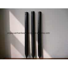 Black Bitumen Painted Y Fence Post/Star Picket