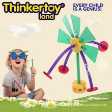 Пластмассовая конструкционная игрушка для начинающих