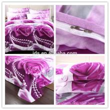polyester microfiber printed bedsheet fabric