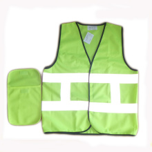 High quality factory for Custom Reflective Safety Vest Traffic High Visibility Reflective Vest with small pocket export to French Guiana Wholesale
