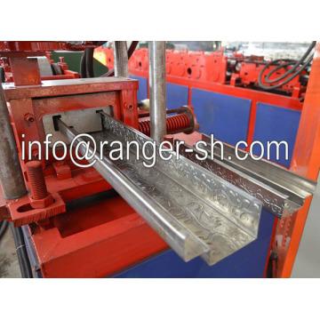 2015 heißer Verkauf! Stahltür Frame Profiliermaschine mit Prägestruktur