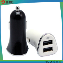 Promotional Mini Dual USB Car Charger (CC1505)