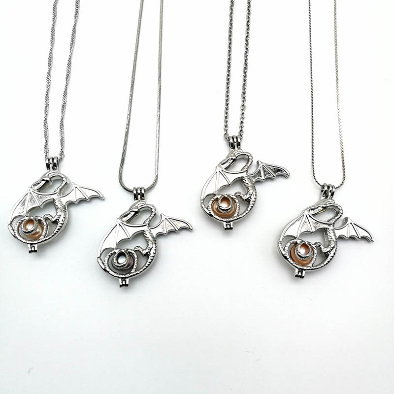 Pearl Locket Cages Pendants