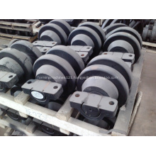 Excavator Bottom Track Roller And Top Roller Assembly