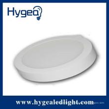6W novo produto quente, redondo, montado em superfície levou luz do painel