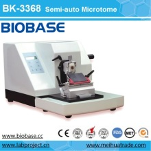 Microtome semi-automatique en microscopie