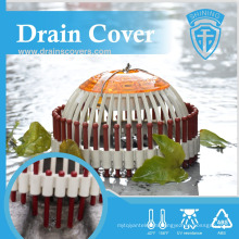 DC-D1810A Lightweight Stop Leaves Garden PVC Plastic Drain Cover