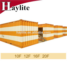 ISO container home 20ft shipping container with color customized service