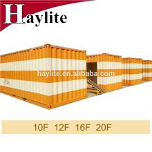 ISO-контейнера дома контейнера 20ft доставка контейнер с цветными подгонянное обслуживание