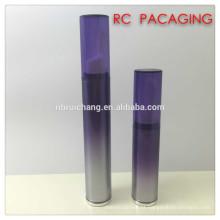 Frasco airless do creme do olho de 8ml / 15ml, frasco cosmético plástico da bomba airless, frasco plástico do creme do olho