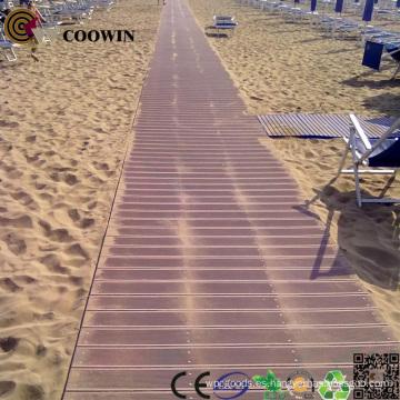 Pisos de madera Composite WPC respetuoso del medio ambiente