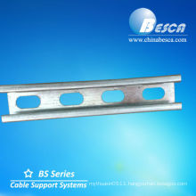 Galvanized C-Channel (UL, SGS, IEC and CE)