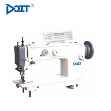 DT640Single Needle Lockstitch Máquina de coser industrial plana con alimentación superior e inferior