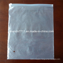 Half-Transparent LDPE Bag with Slider