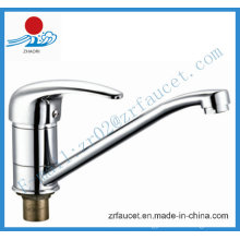 Single Handle Kitchen Mixer Faucet in Sanitary Ware (ZR20405-A)