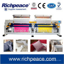RPQ-E 424 Computerized Multi-color Double Roll Quilts Quilting Embroidery Machine