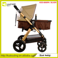 2015 NEW Deluxe Baby Stroller 5-point harness Reversible Seat Direction Big Wheel Pram Customized Color