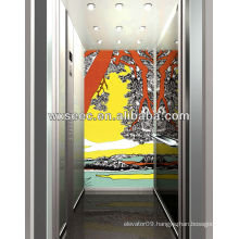 Japan VVVF Passenger Elevator with Light curtain