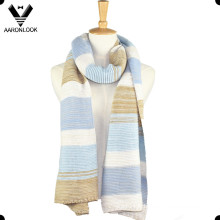Écharpe en tricot pour femmes de grande taille à l'hiver 2016