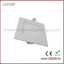 CER-Zustimmung 6W quadratische dünne LED-Instrumententafel-Lichter / flache Lampe LC7724t