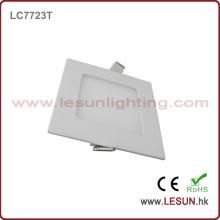 Le panneau carré mince de l'approbation 6W de la CE allume / la lampe LC7724t plate