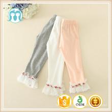 Bébé filles nouveau pantalon en gros enfants une pièce pantalons au détail usine prix