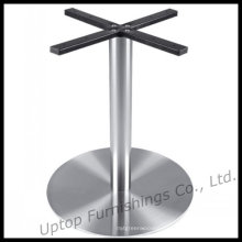 Glossy Stainless Steel Round Table Base (SP-STL104)