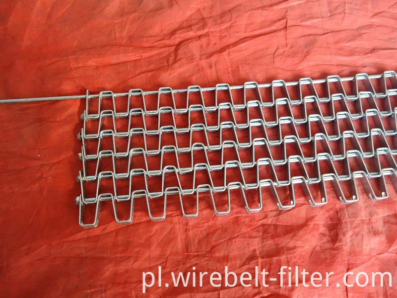 Flat Bar Conveyor Belt