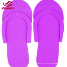 3mm non-slip Disposable eva foam slippers for nail beauty salon