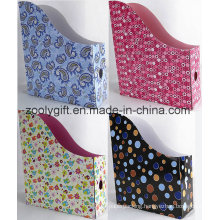 Wholesale Corrugated Paper File Holder Paper Magazine Holder