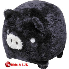 Meet EN71 and ASTM standard black plush pig