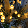 High quality flower garden decoration fiber optic light