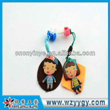 New design cute rubber dust cap for promotional gift