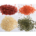 Dehydrated vegetables garlic ginger
