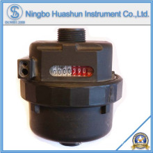 Nass-Typ Kunststoff Körper Volumetrische Wasserzähler (LXH-15S)