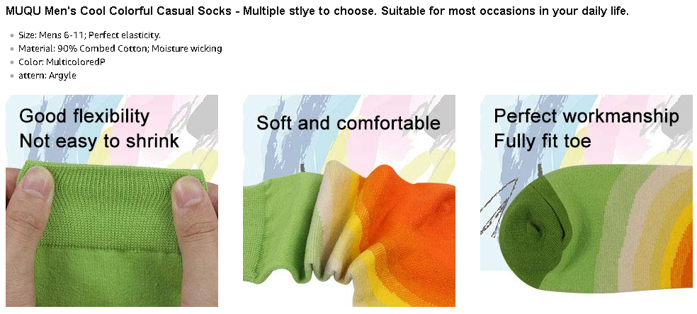fashion men socks