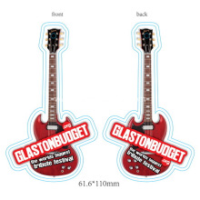 Custom promotional guitar shaped air fresheners