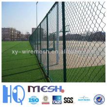 Clôture de liaison de chaîne de vente chaude / Clôture de maillon de chaîne utilisée pour les terres vertes (Fabriqué en Chine)