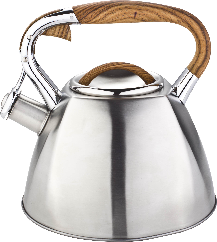 2.7Litre Tea pot with wooden fix handle