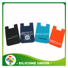 lower price fashionable silicone card wallet