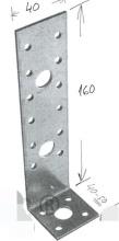 Galvanized L steel plate