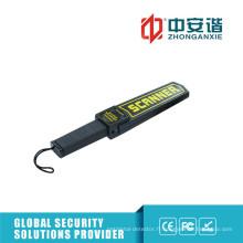 Détecteurs de métaux de sécurité pour l'inspection des armes avec indication LED couleur