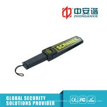 Detectores de metal de segurança para inspeção de armas com indicação LED a cores