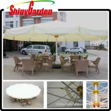 5m Big Square Large Outdoor Umbrella, Giant Umbrella, Outdoor Large Sun Umbrella