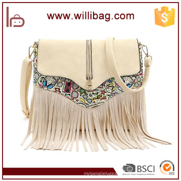 Woman Single Bag Factory Sale American Style Messenger Bags For Lady