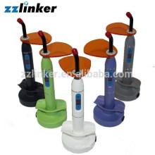 LK-G29-1 China Wireless Bunte Dental Curing Licht Lampe