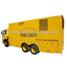 200кВт 4-колесный электрический электрогенератор