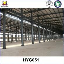 Hangar de almacén de la estructura prefabricada de acero de almacenamiento