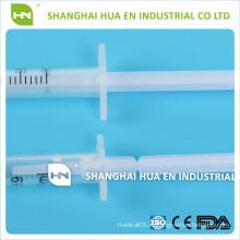 Высококачественный медицинский одноразовый медицинский препарат 3шт 1 мл / 2 мл / 3 мл / 5 мл / 10 мл шприца