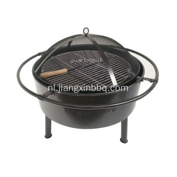 24 inch Sky Stars and Moons Fire Pit